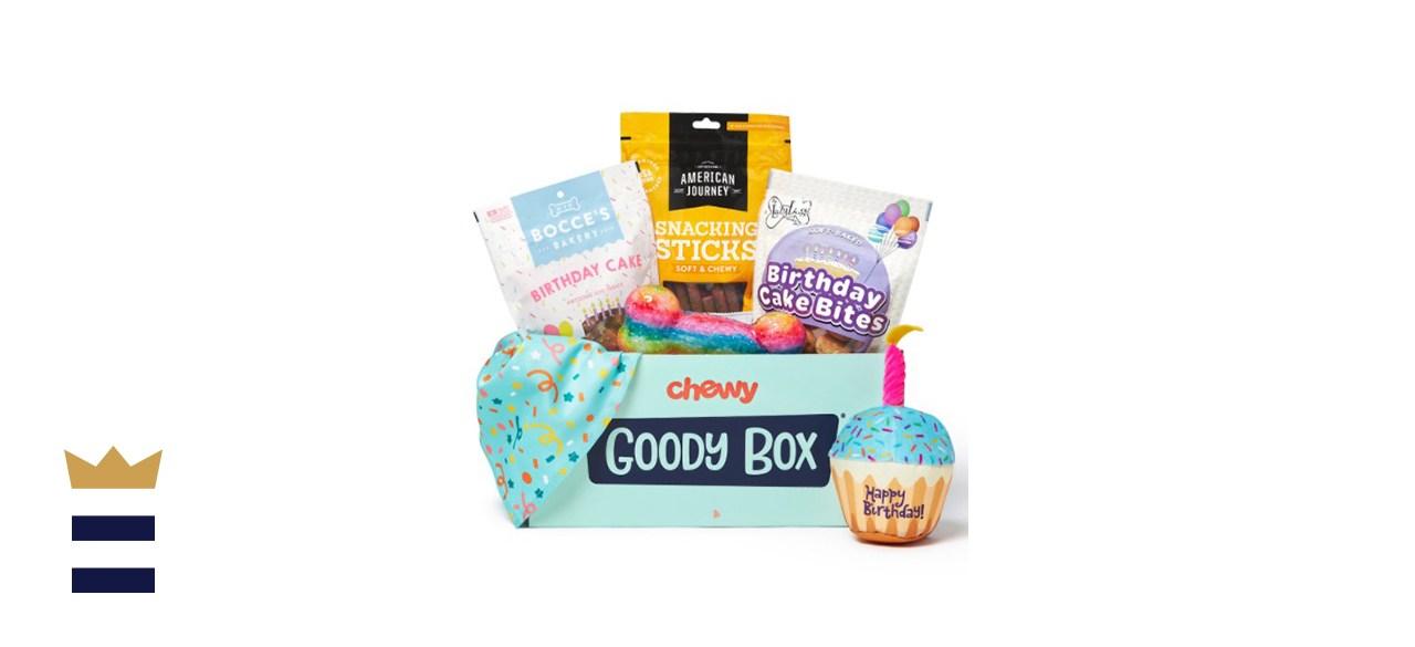 Goody Box Birthday Toys, Treats & Bandana