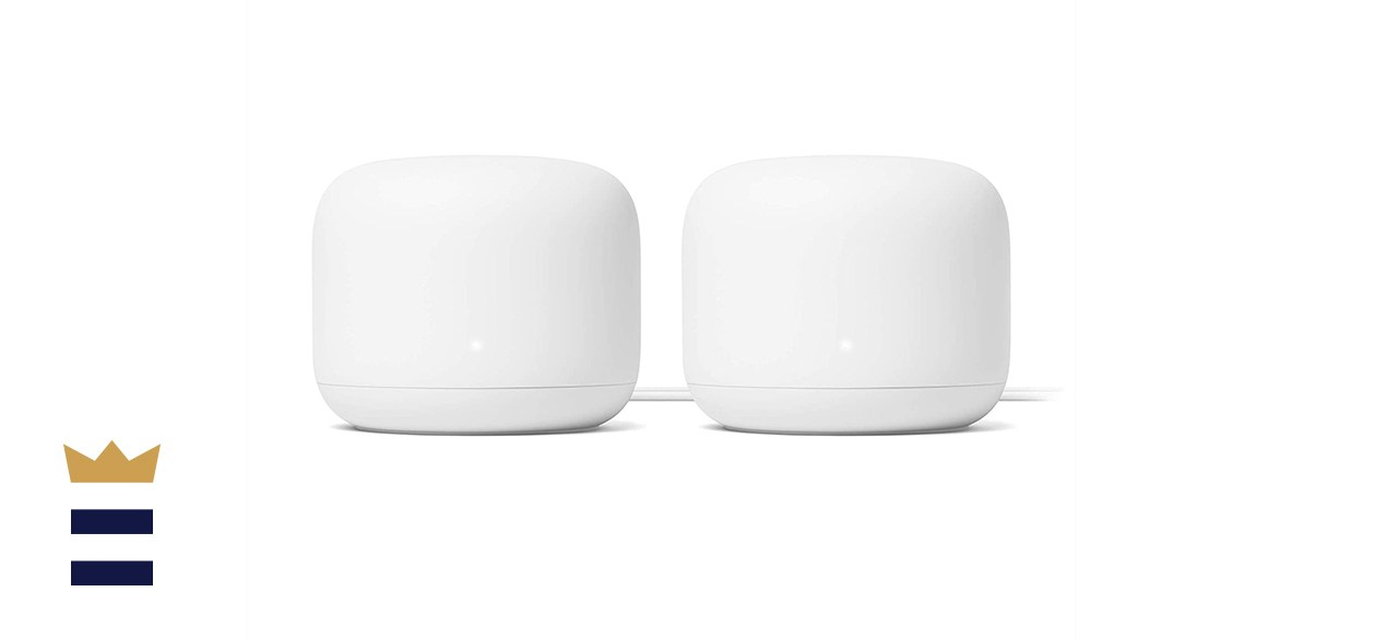 Google Nest AC2200 Mesh System WiFi Router with 4400 Sq Ft Range
