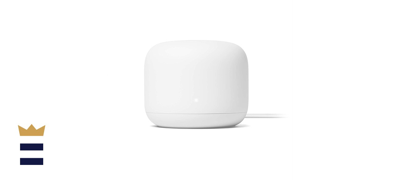Google Nest Mesh WiFi System with Dual-Band Connectivity and Voice Controls