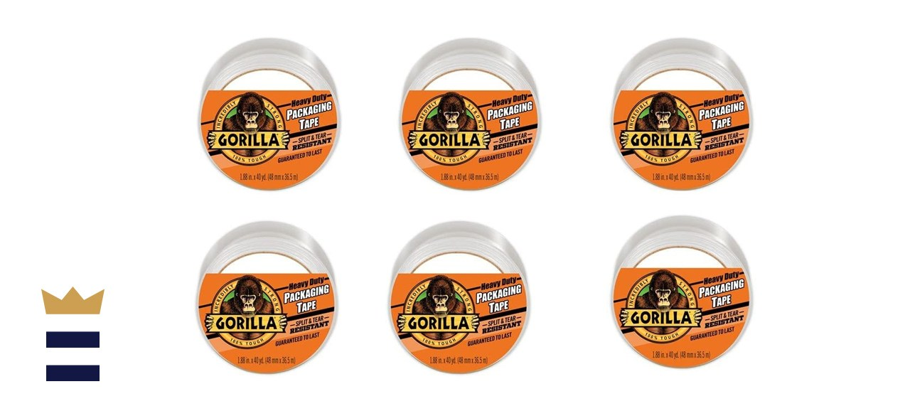Gorilla Heavy Duty Large Core Packing Tape