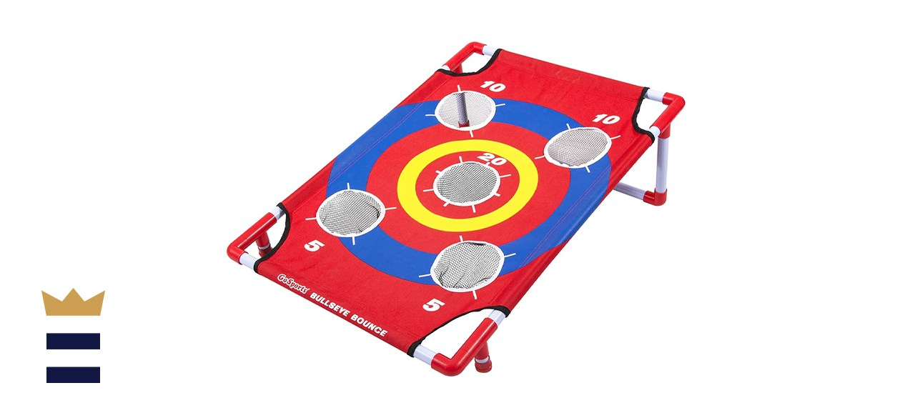 GoSports Bullseye Bounce Cornhole Game