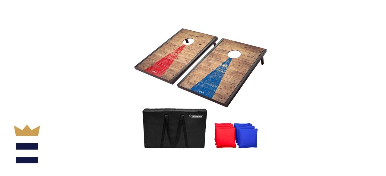 GoSports Classic Rustic Cornhole Set (3 ft x 2 ft)