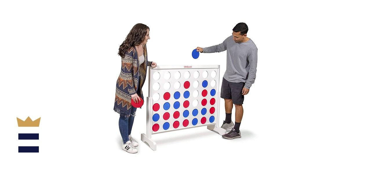 GoSports Giant Wooden 4-in-a-Row Game