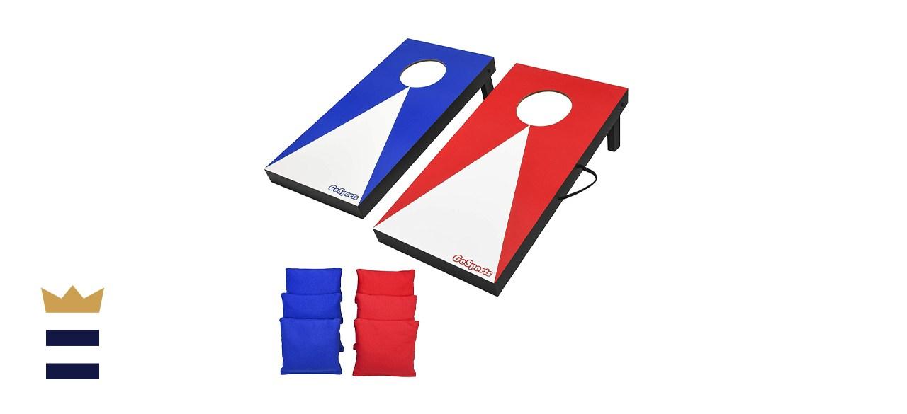 GoSports Portable Cornhole Game Set