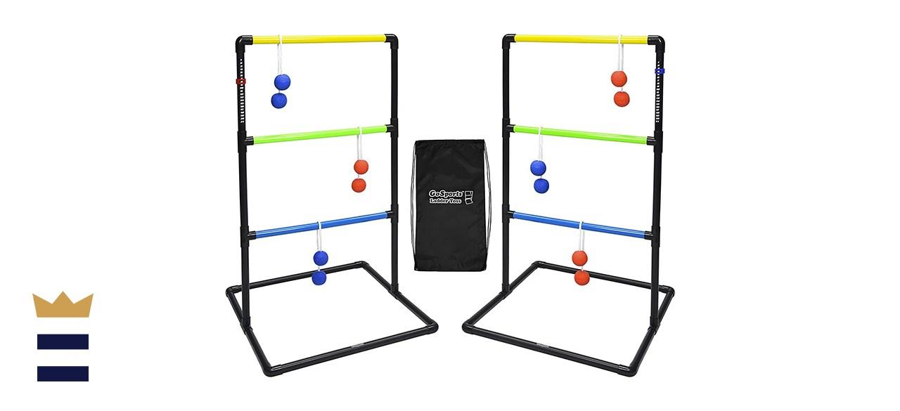 GoSports Pro Grade Ladder Toss Indoor/Outdoor Game Set