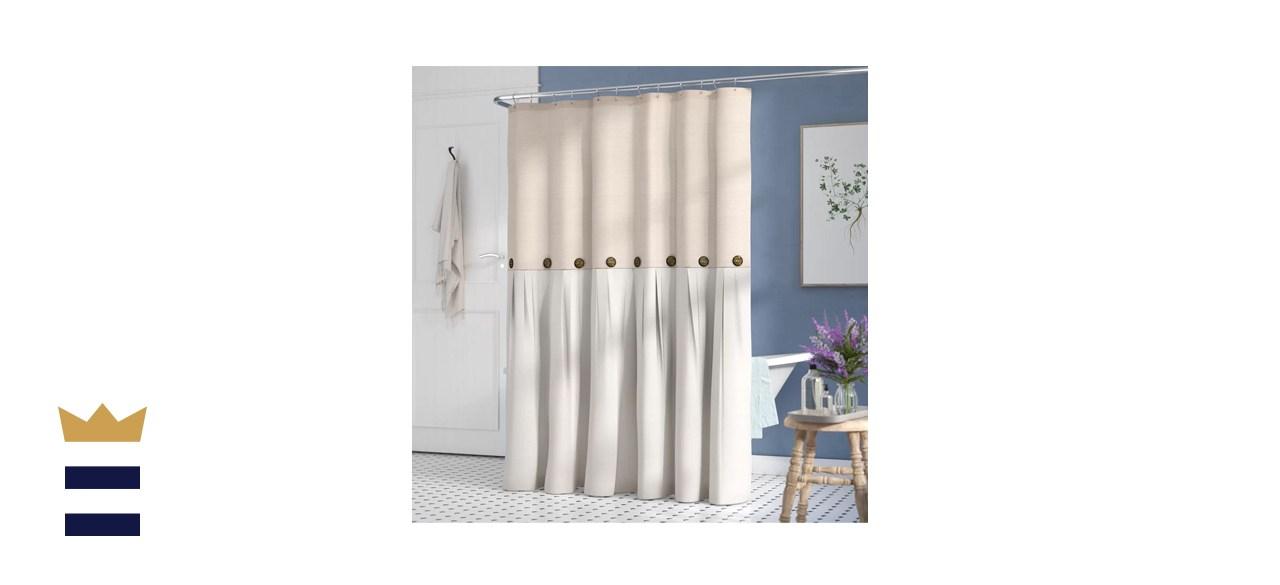 Gracie Oaks Ruya Single Shower Curtain