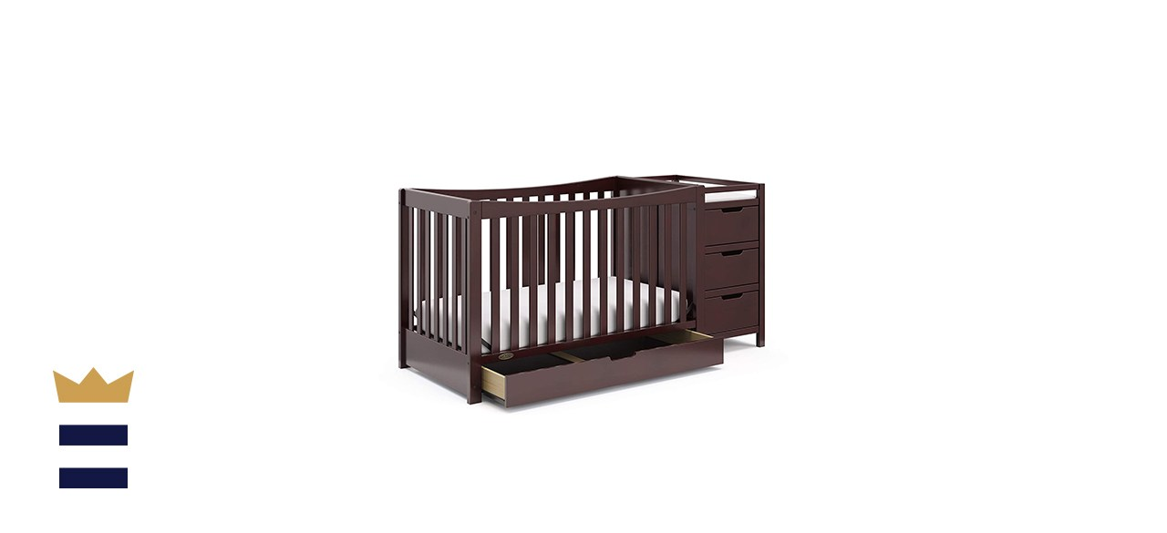 Graco Remi 4-in-1 Convertible Crib with Drawer and Changer
