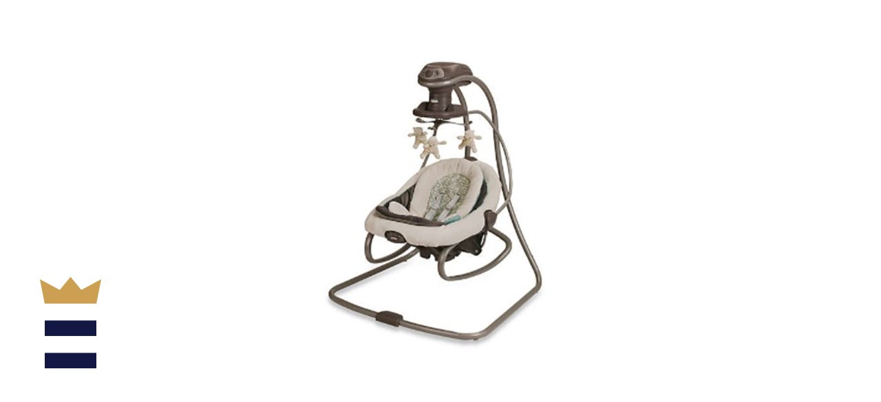 Graco's DuetSoothe Swing and Rocker