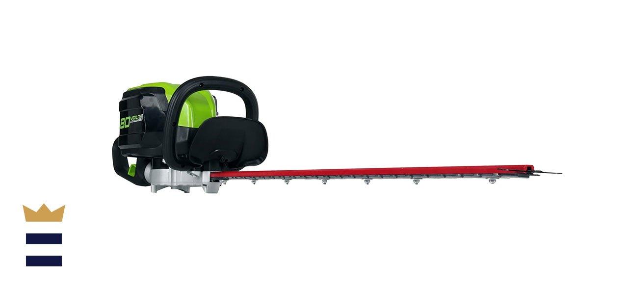Greenworks PRO 80V 26-inch Cordless Hedge Trimmer
