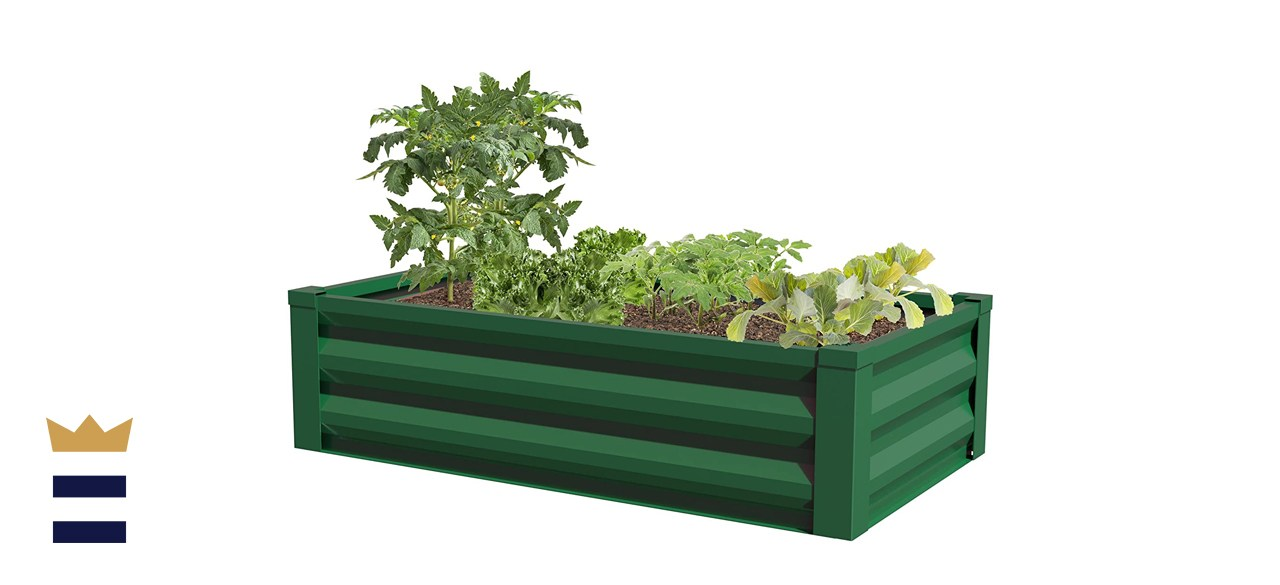 Greenes Fence Raised Garden Bed Planter