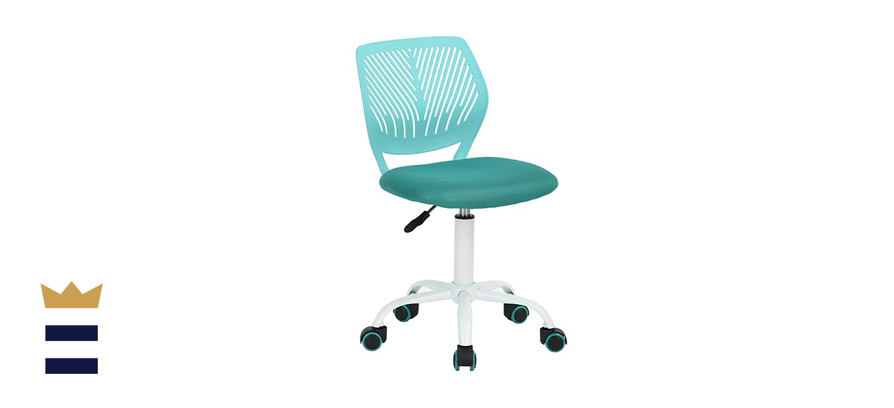 GreenForest Kids' Armless Mid-Back Mesh Office Chair