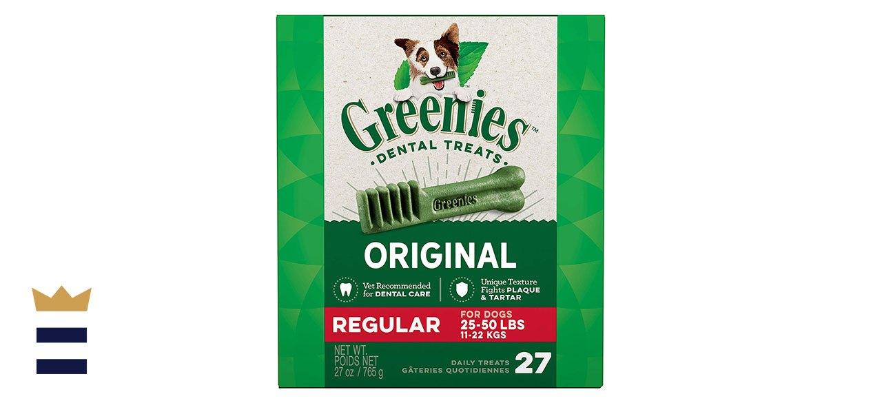 Greenies' Regular Dental Dog Treats