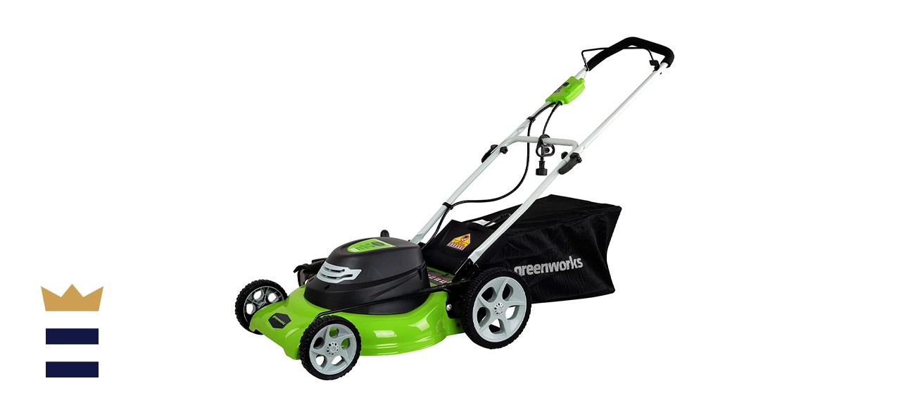 Greenworks 12 Amp 20-Inch Electric Corded Lawn Mower