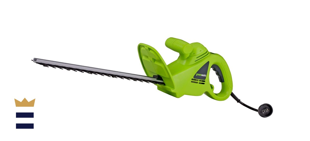 Greenworks 18-inch Corded Hedge Trimmer