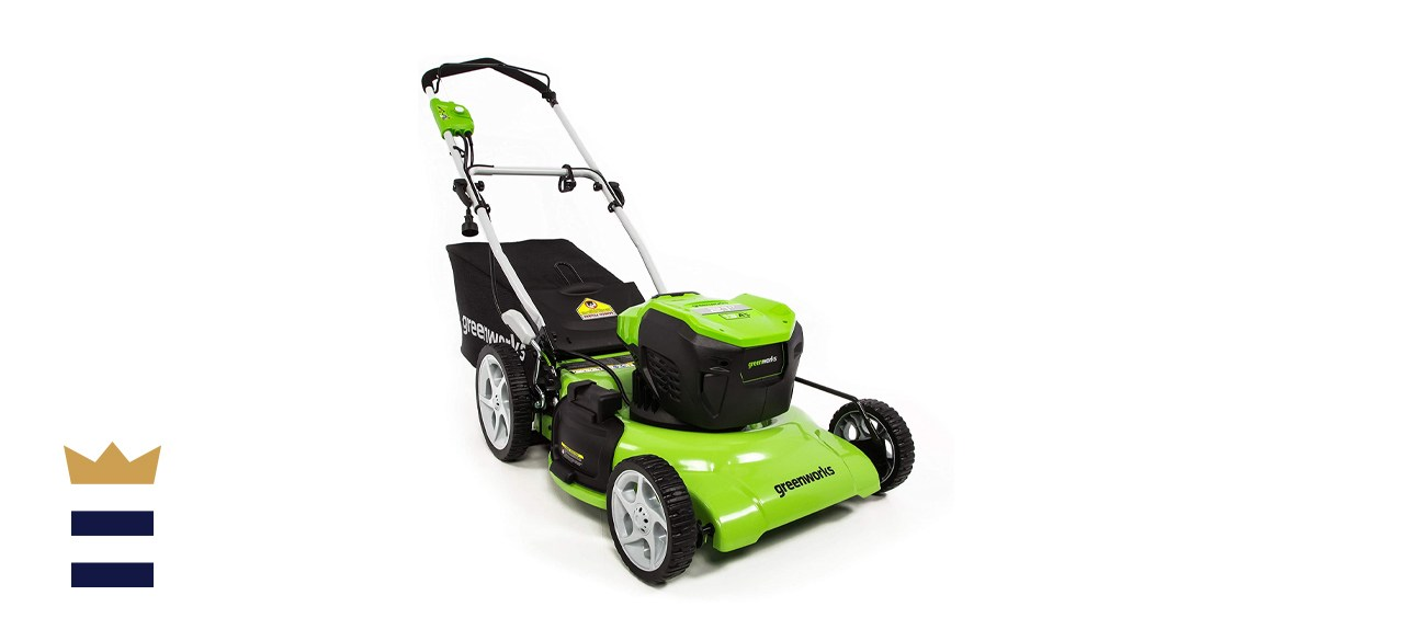 Greenworks 21-Inch 13 Amp Corded Electric Lawn Mower