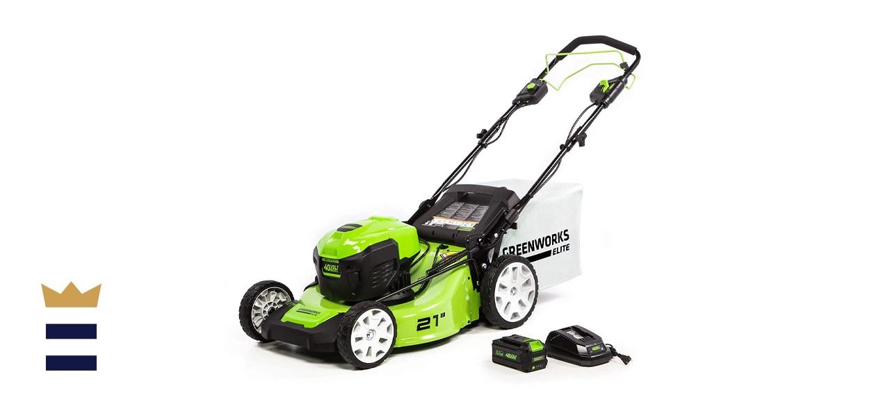Greenworks 21-inch 40V Brushless Self-Propelled Mower