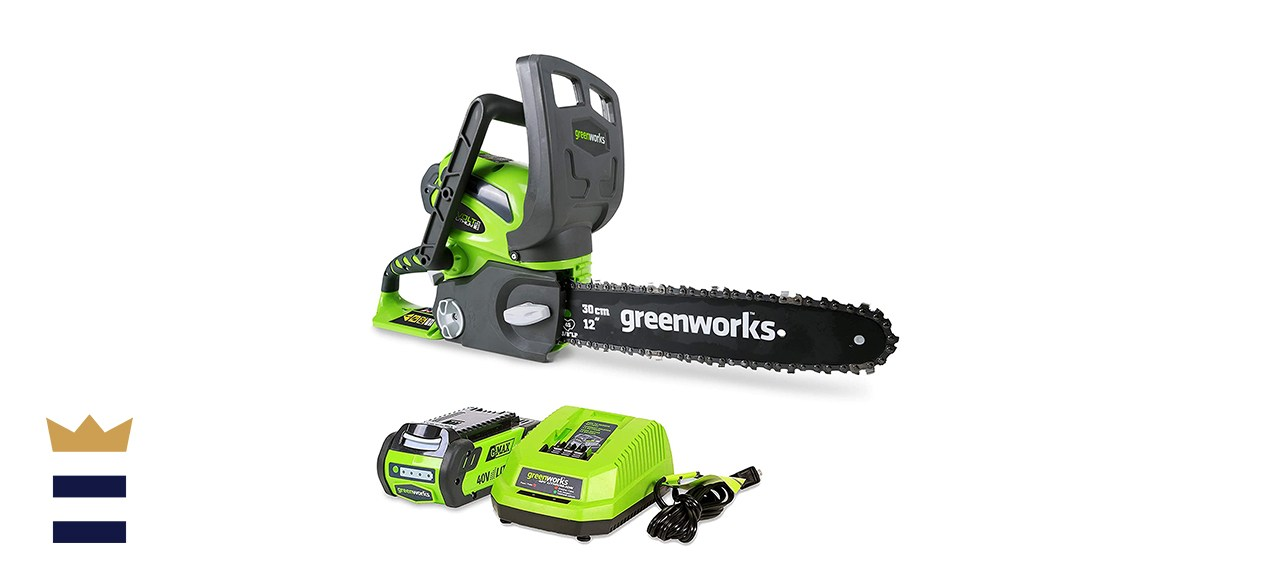 Greenworks 40V 12inch Cordless Chainsaw