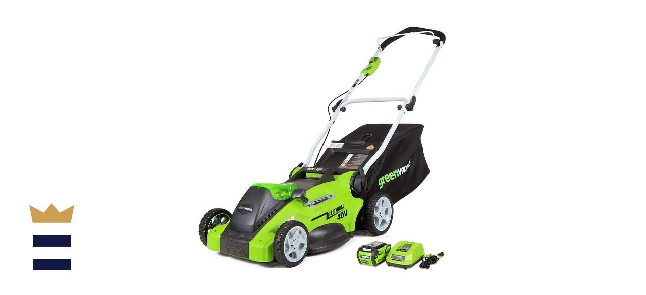 Greenworks G-MAX 40V 16'-inch Cordless Lawn Mower