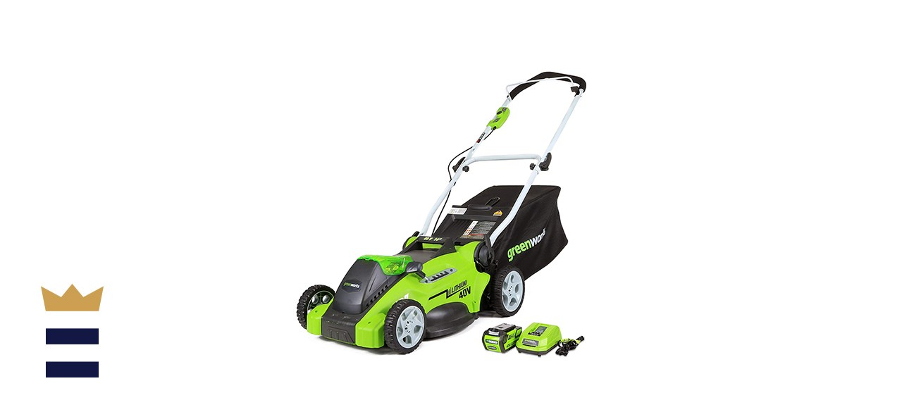 Greenworks G-Max Cordless Lawn Mower