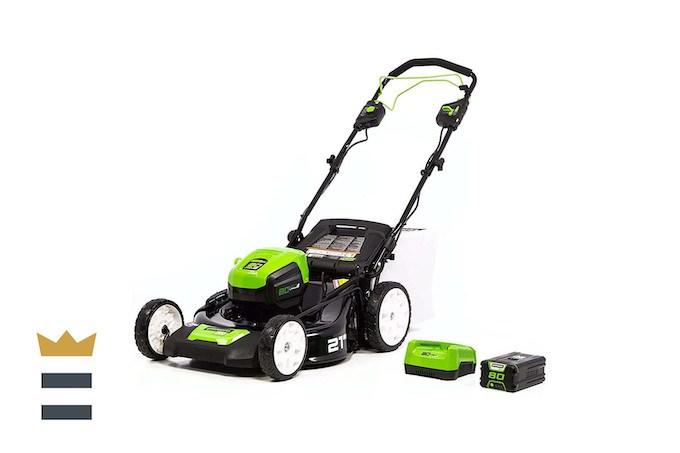 Greenworks Pro 80V 21-inch Brushless Self-Propelled Lawn Mower