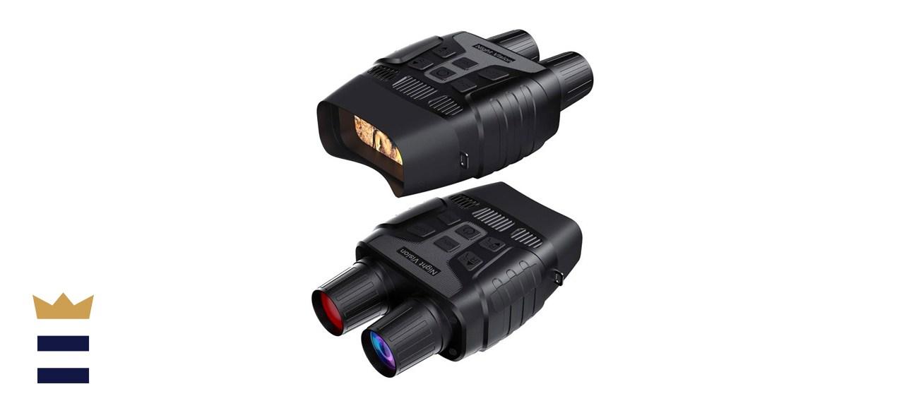 GTHUNDER Digital Night Vision Goggles Binoculars for Total Darkness