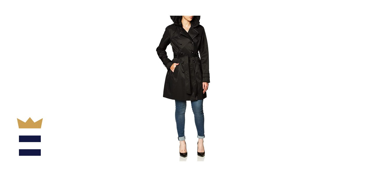 Guess Double Breasted Trench Coat
