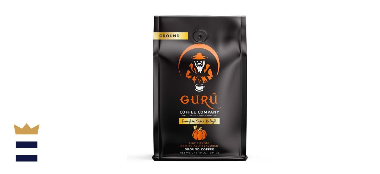 Guru Coffee Company Premium Pumpkin Spice Flavored Ground Coffee