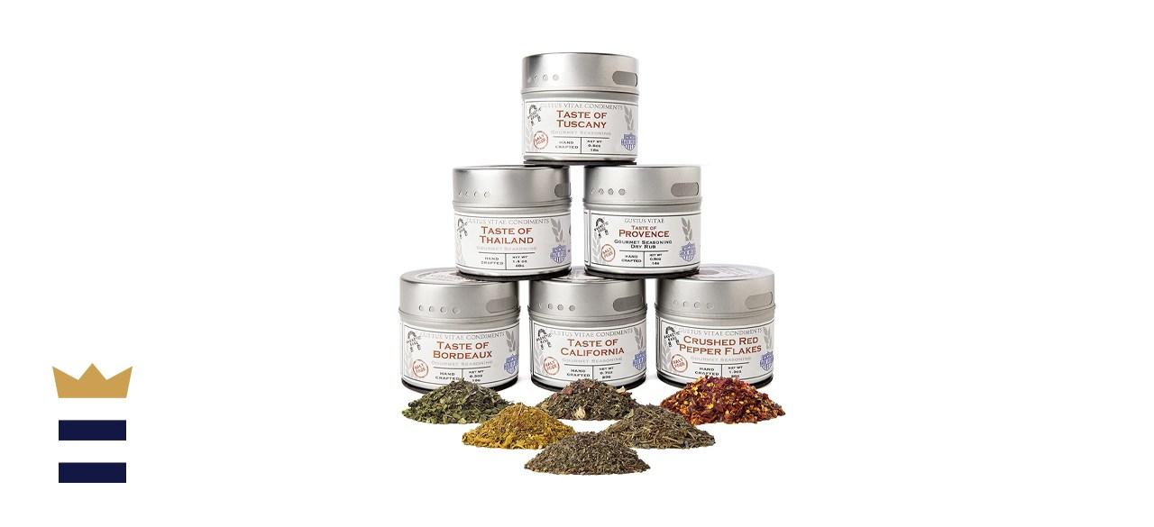 Gustus Vitae Salt-Free Gourmet Seasoning Collection