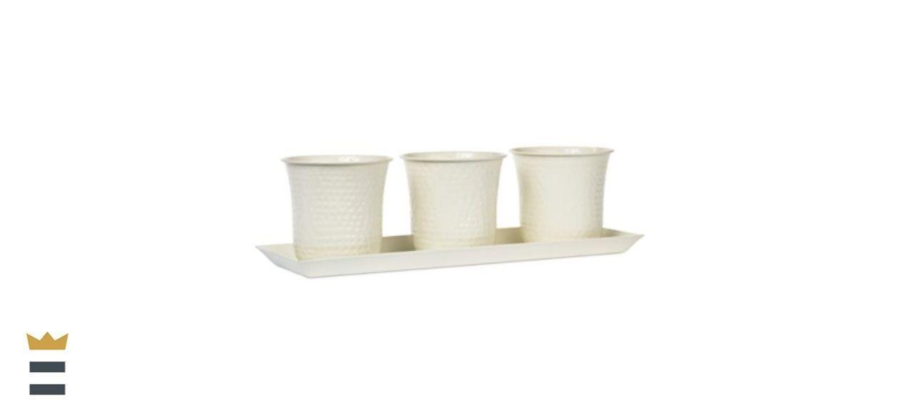 H Potter Indoor Herb Plant Pots