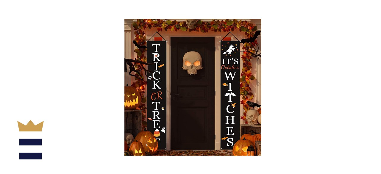 Halloween Welcome Signs