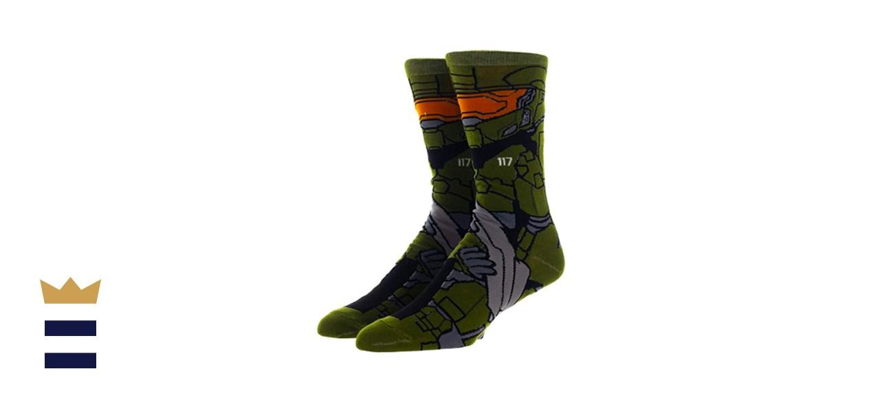 Halo Master Chief 360 Men's Crew Socks