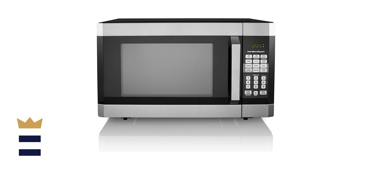 Hamilton Beach 1.6 Cubic Foot Stainless Steel Digital Microwave