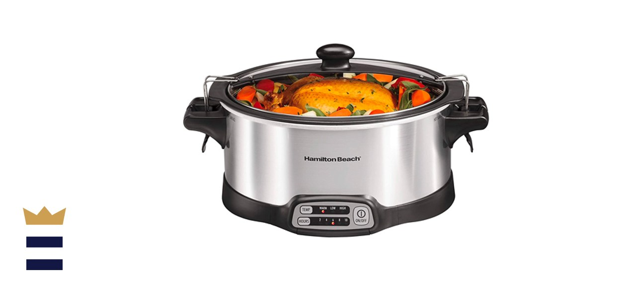 Hamilton Beach Stay or Go 6-Quart Programmable Slow Cooker