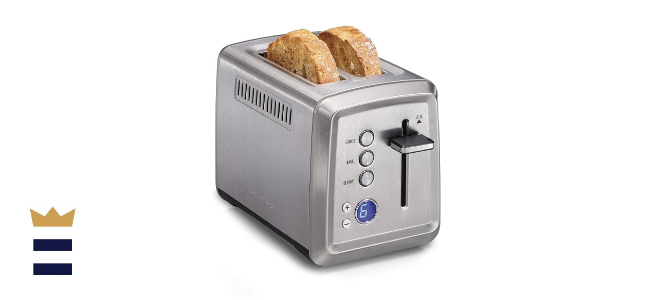 Hamilton Beach Toaster with Bagel and Defrost Settings