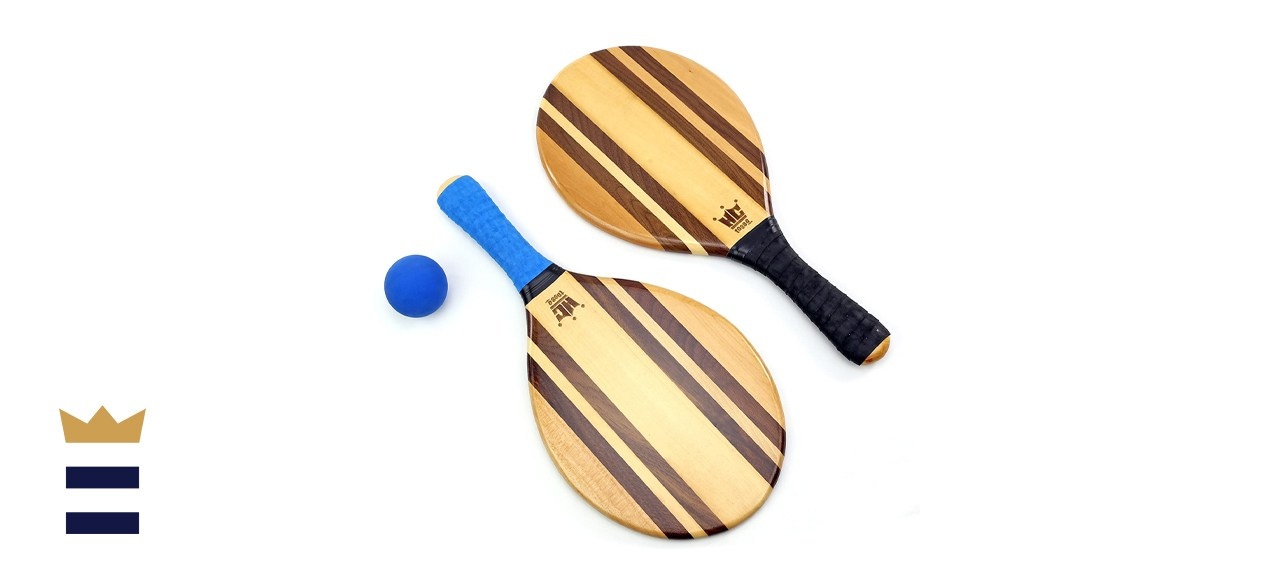 Hammer Crown Paddle Ball Set