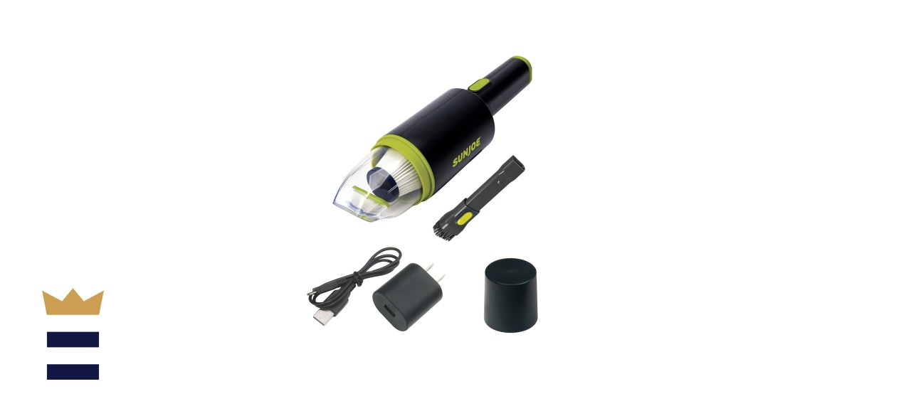 8.4-Volt Handheld Cordless Auto Vacuum with USB Charger
