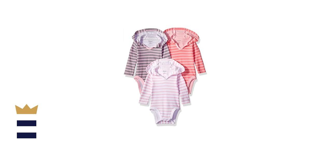 Hanes Ultimate Baby Flexy 3-Pack Hoodies