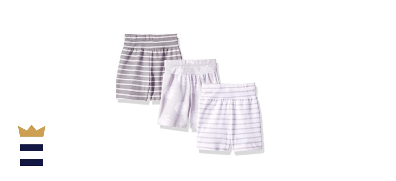 Hanes Ultimate Baby Flexy 3-Pack Knit Shorts