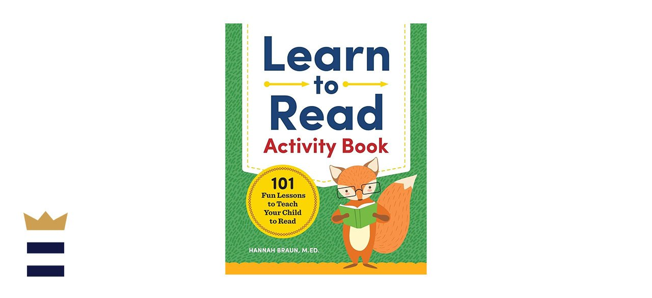 Hannah Braun's Learn to Read Activity Book