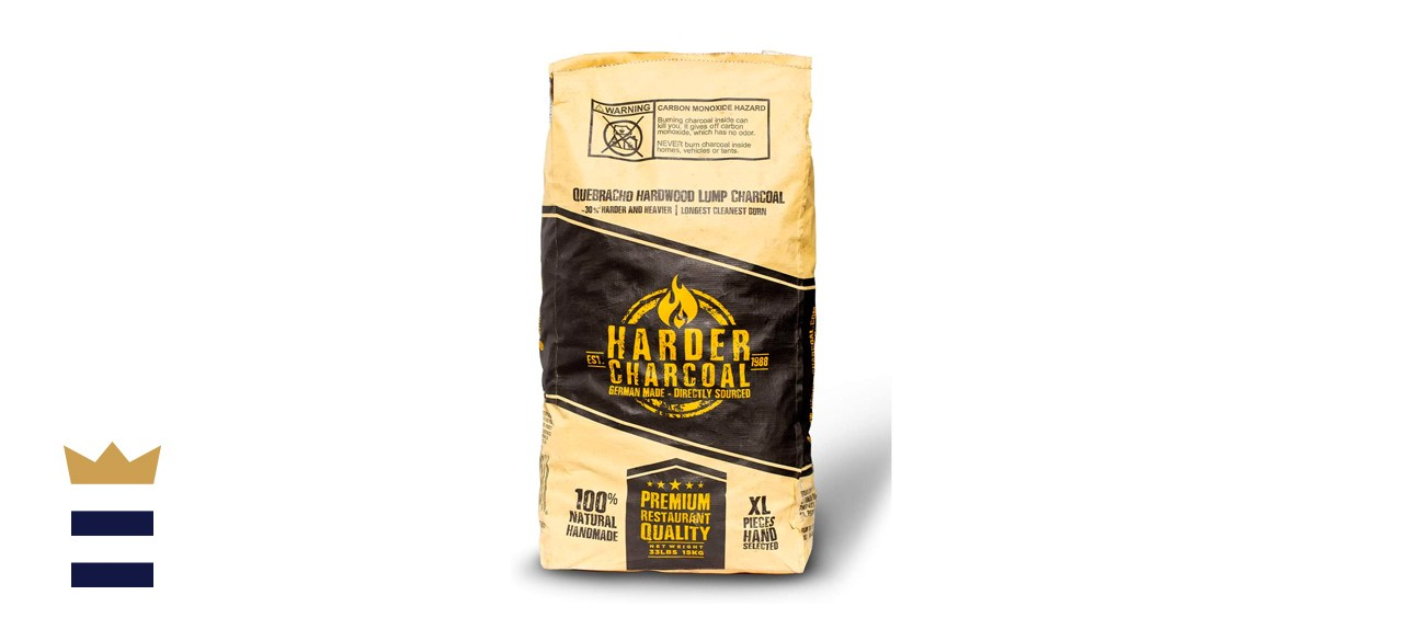 Harder Charcoal Natural XL Restaurant Style Lump Charcoal