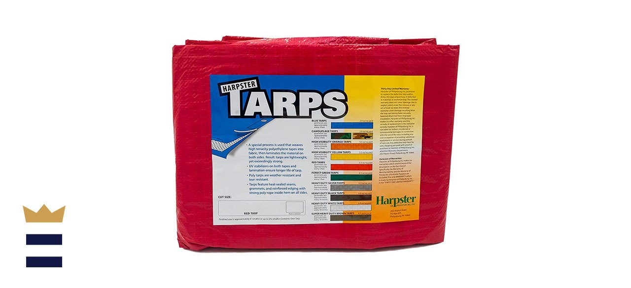 Harpster Tarps' High-Visibility Tarp