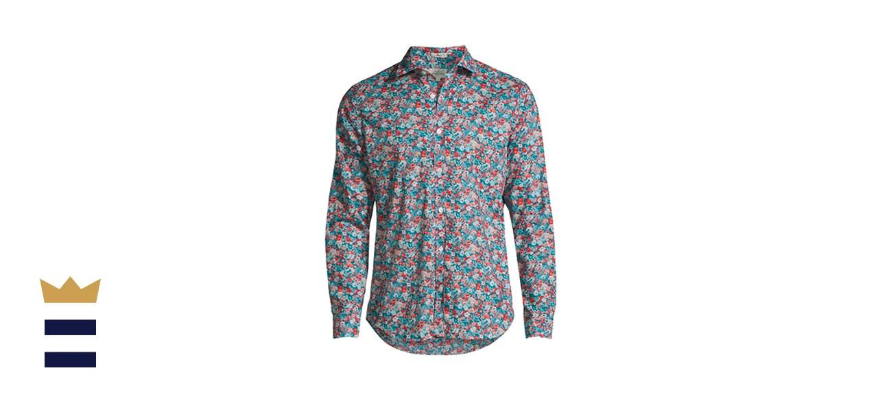 Hartford Sammy Slim-Fit Floral Shirt