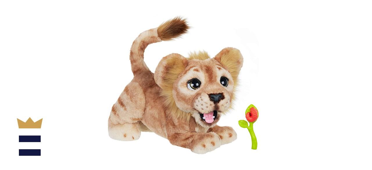 Hasbro Disney The Lion King Mighty Roar Simba Interactive Plush Toy