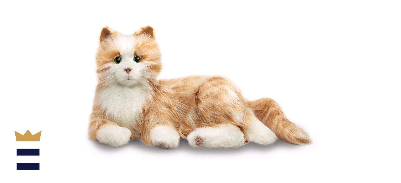 Hasbro Joy For All Interactive Companion Pets Tabby Cat