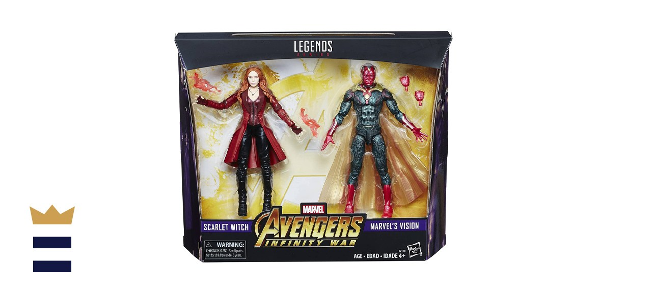 Hasbro Marvel Legends Toys R Us Exclusive Avengers Infinity War 2-Pack Vision and Scarlet Witch