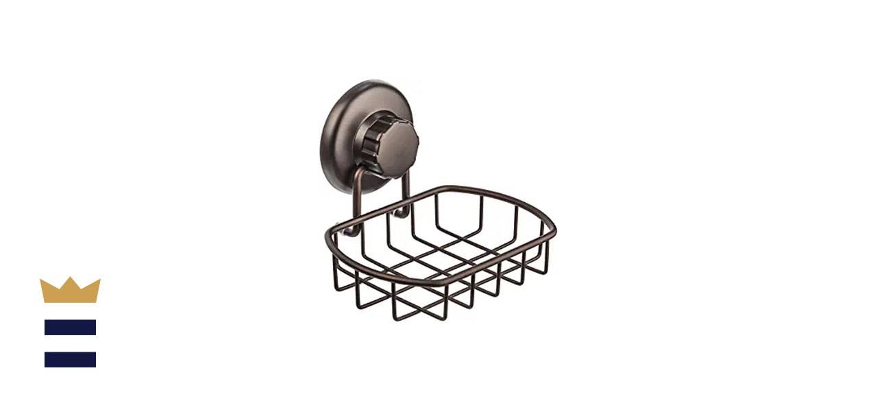 Hasko Accessories Suction-Cup Soap Dish