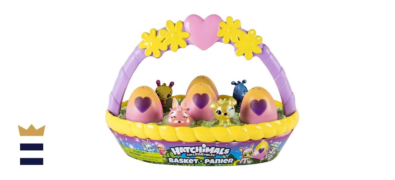 Hatchimal Colleggtibles basket