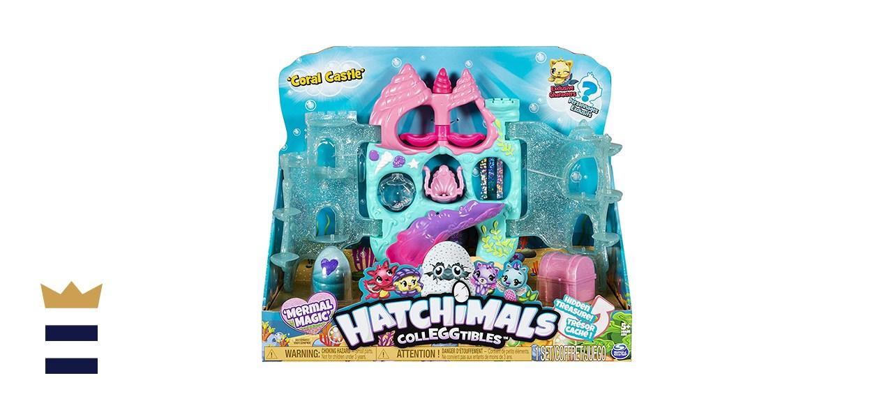 Hatchimal Colleggtibles Coral Castle playset