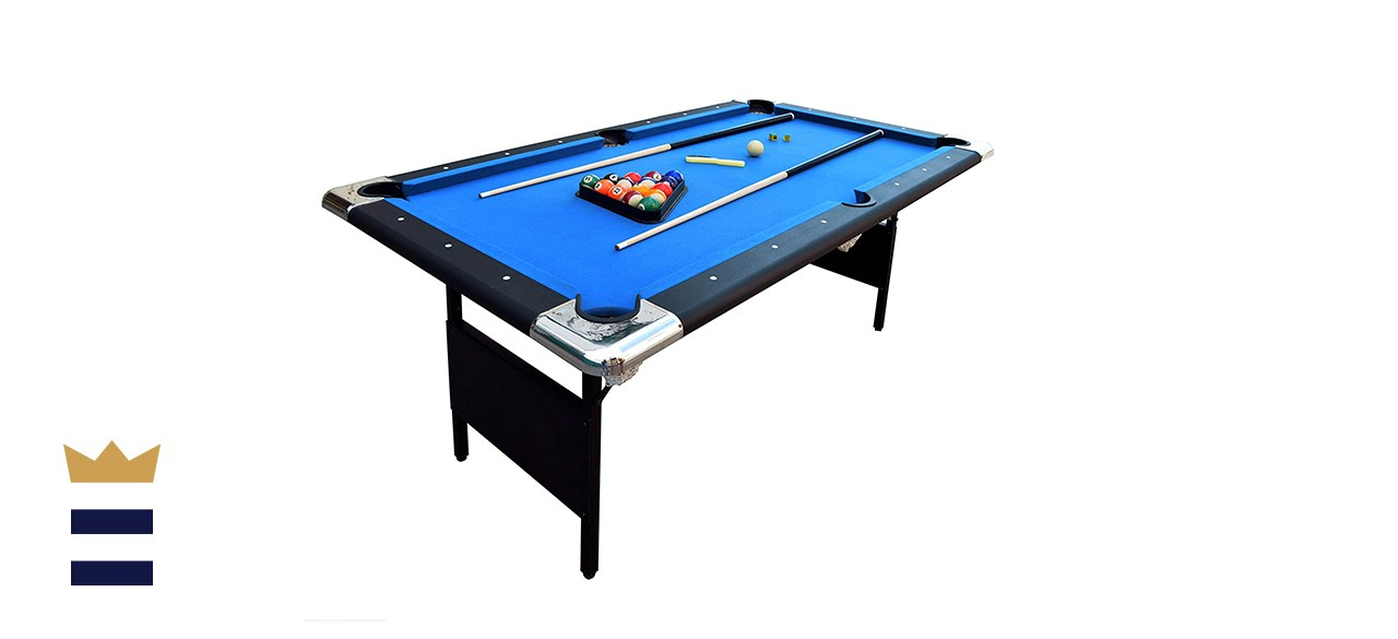 Hathaway Fairmont Portable 6-Foot Pool Table