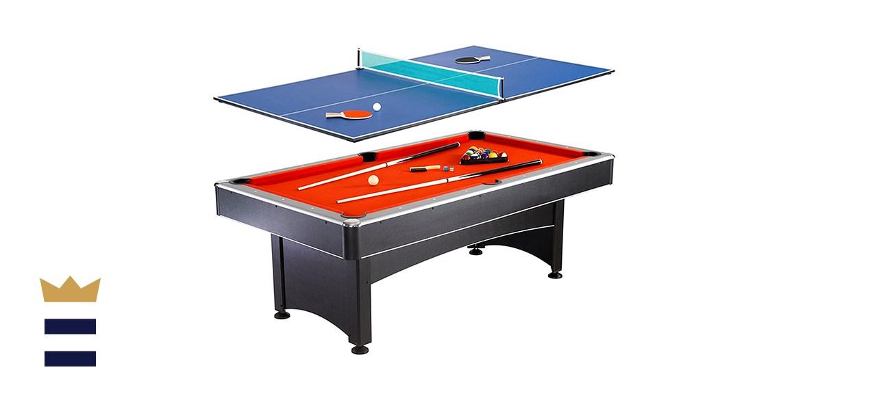 Hathaway Maverick 7-Foot Pool Table and Table Tennis Set